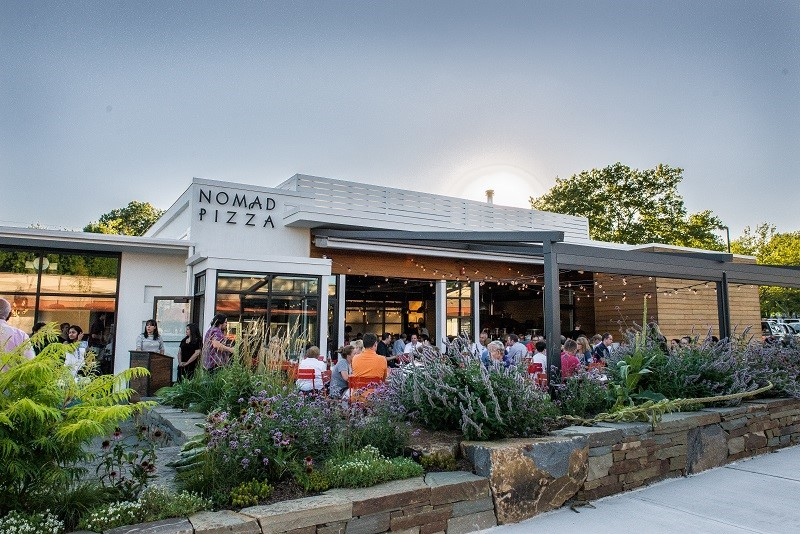 Nomad Pizza – A 1930s Filling Station Transformed