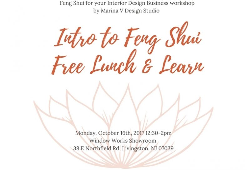 Lunch & Learn: INTRO TO FENG SHUI