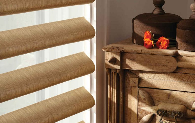 Alustra® Pirouette® Window Shadings Opened