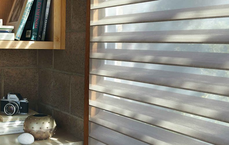 Alustra® Silhouette® Window Shadings Opened