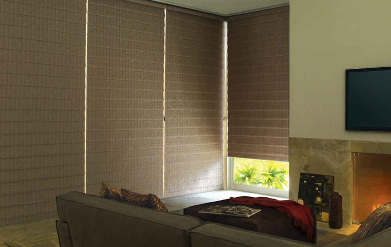 Alustra® Vignette® Modern Roman Shades With Easyrise™ Cord Loop