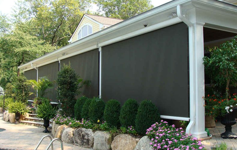 Backyard Durasol Drop Screen