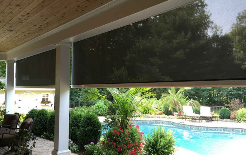 Backyard Solar Screen Shade