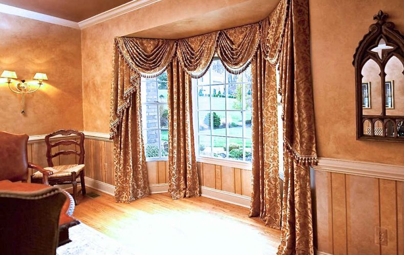 Beacon Hill Swag Jabot Valance And Panels