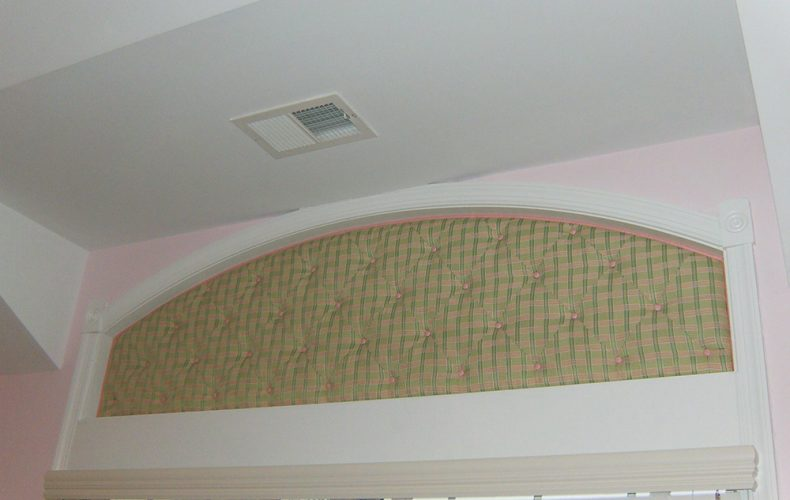 Bedroom Arch Inside Mount Cornice