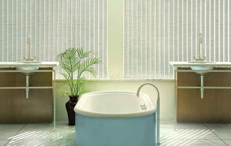 Cadence® Soft Vertical Blinds With Permatilt® Wand Control System