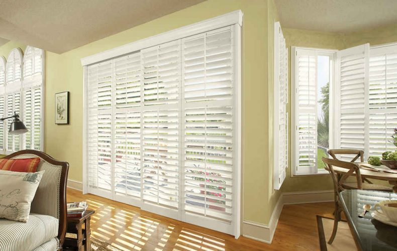 Custom Shutter Collection With Bypass Track System