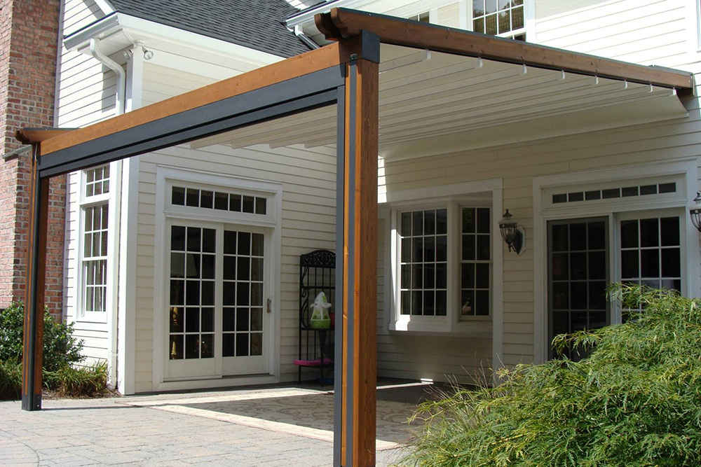 Pergola And Freestanding Window Works