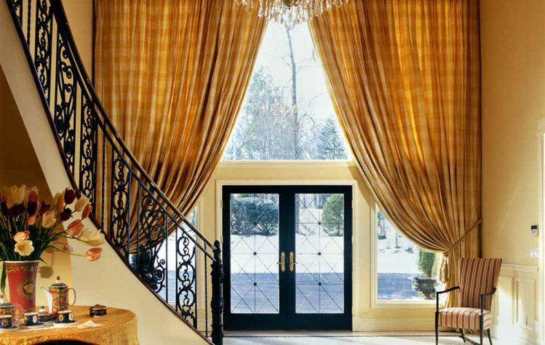 Entry Foyer Drapes For Sussan Lari Architect