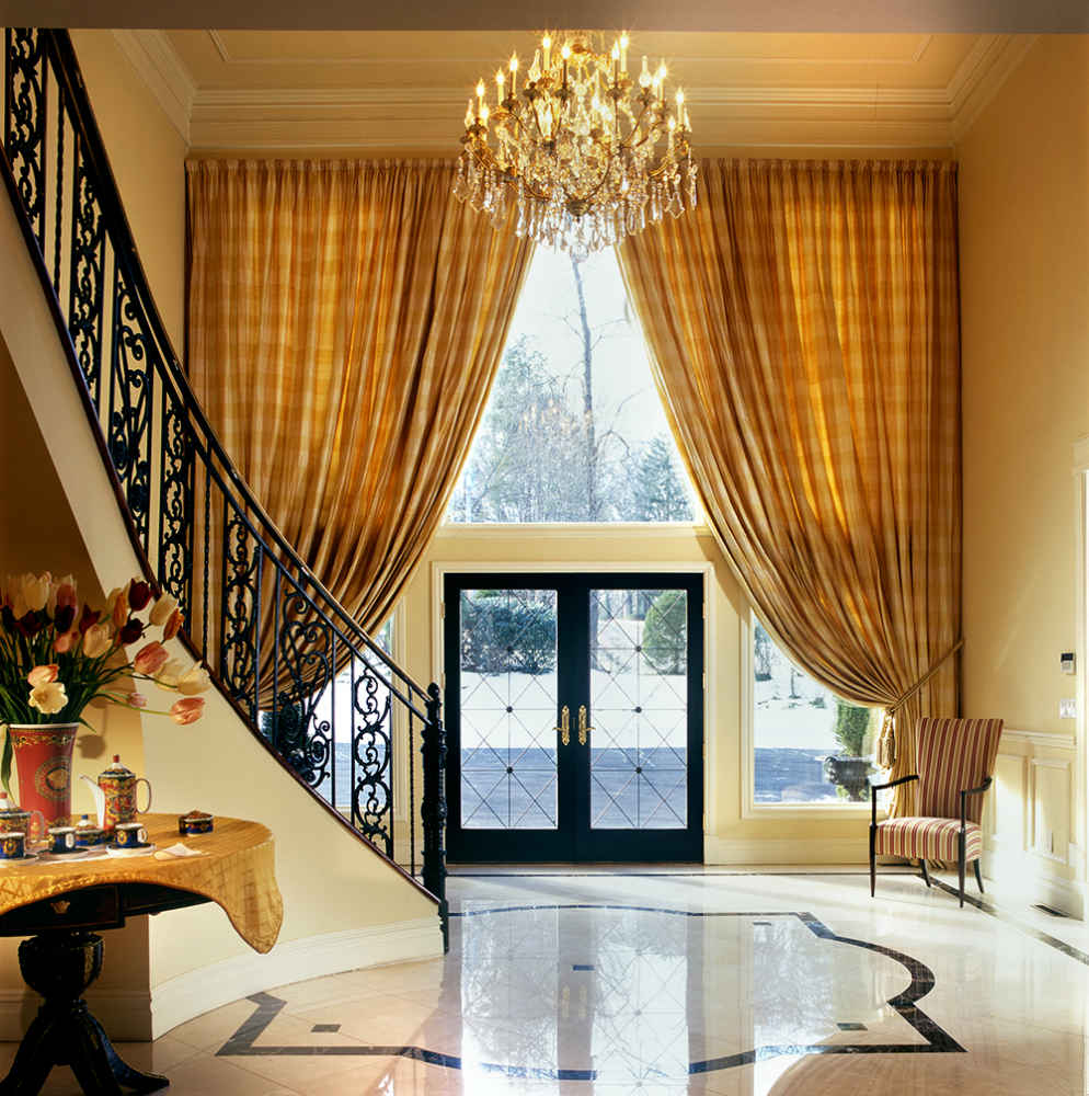Traditional Window Treatments Living Room: Trad. Window Treatments
