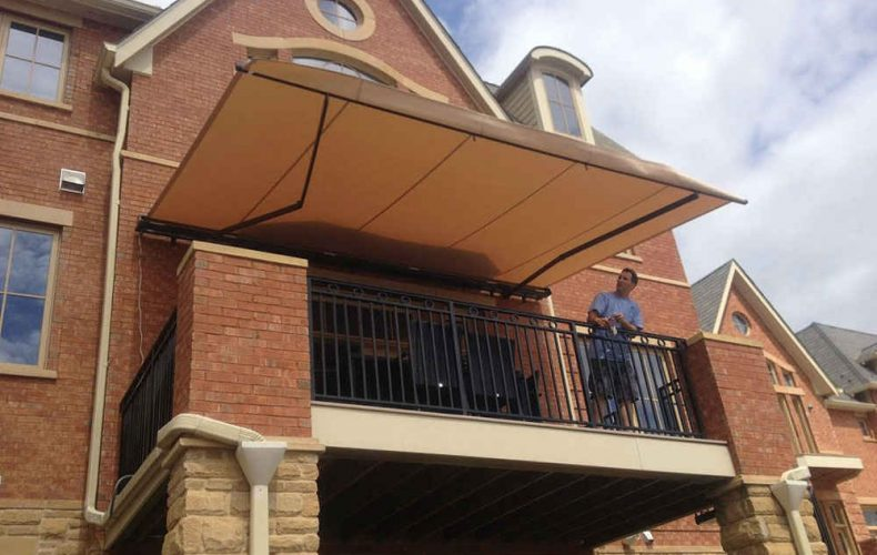 Extended Awning Over Patio
