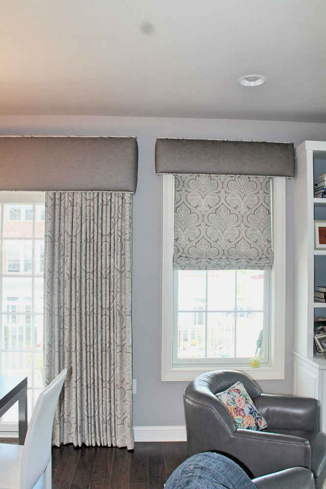 Roman Shades Window Works
