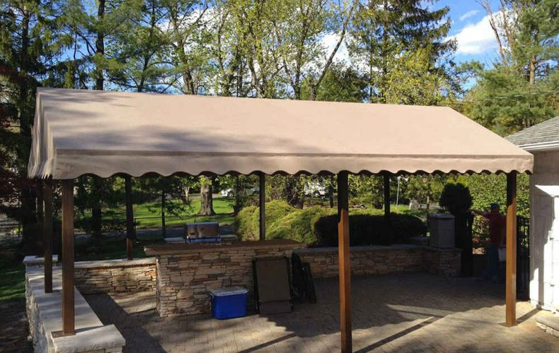 Freestanding A Frame Outdoor Awning