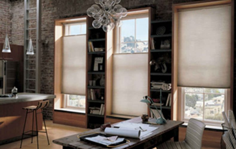 Hunter Douglas Duette Bottom Up Top Down Semi Opaque
