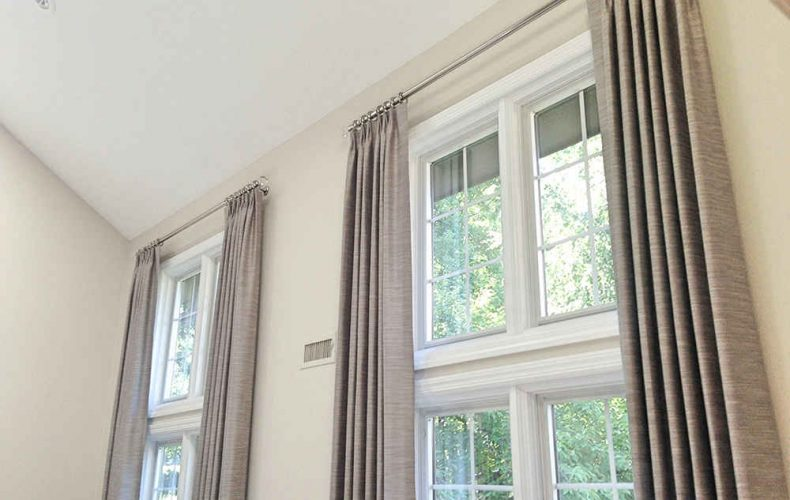 How do custom window treatments work?