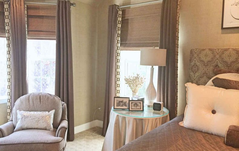 Master Bedroom Shades And Drapes