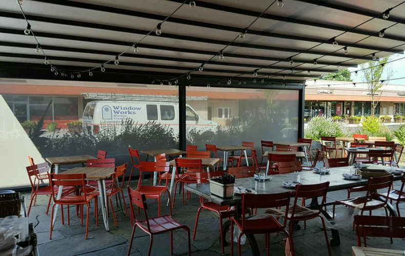 Nomad Pizza Patio Awning Gennius With Drop Screens