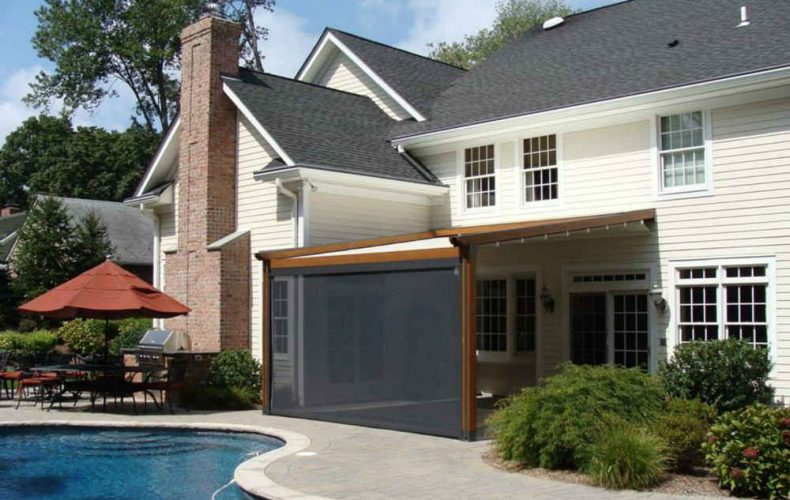 Rain Proof Retractable Awning
