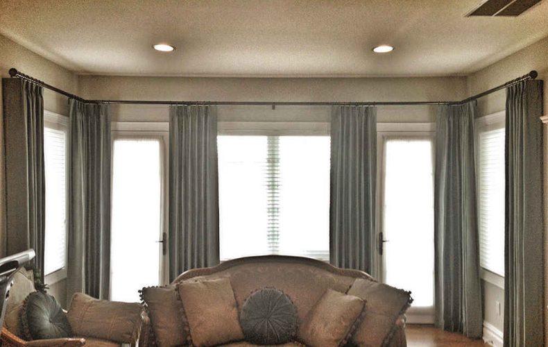 Sitting Room Drapery Panels