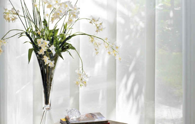 Skyline® Gliding Window Panels Sheer