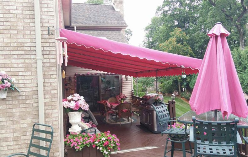 Stationary Patio Awning Wayne Nj