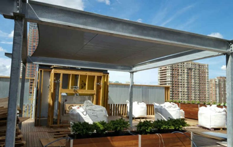 Tension Durasol Architectural Rooftop Sail Cloths
