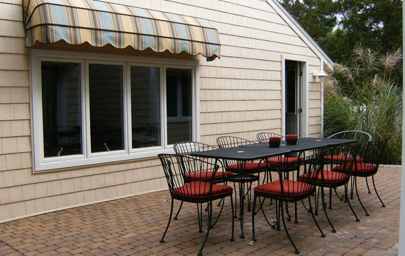 Waterfall Awning