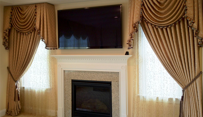 curtains and tv window treatments