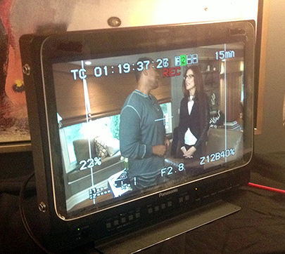 tv crew visit