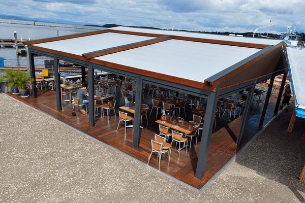 Pergola Awnings - Outdoor Shading Solutions - Window Works NJ
