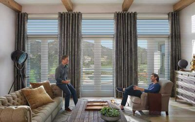 Hunter Douglas Silouette With Drapes