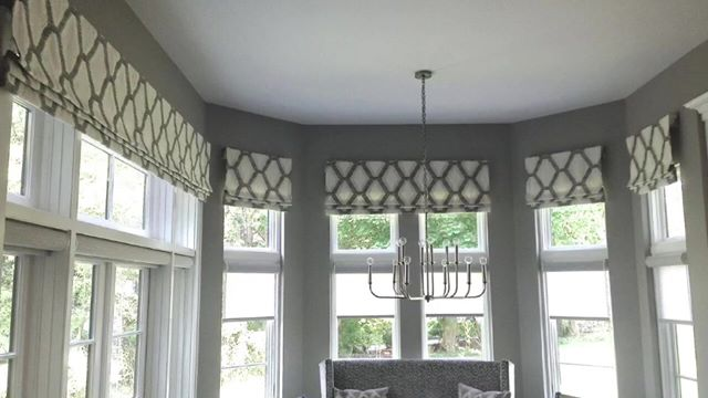 How to use roman shades to enhance your window treatment designs!
