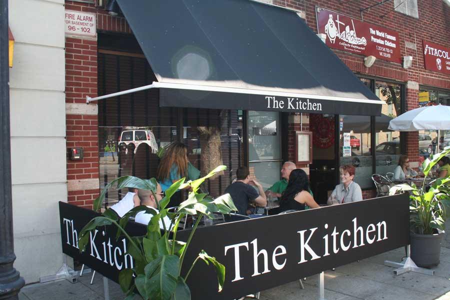 Sidewalk Partition Cafe