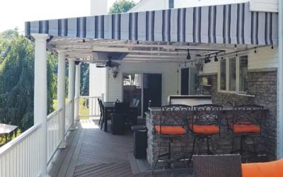 Custom Stationary Awning