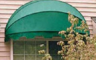 Green Dome Awning