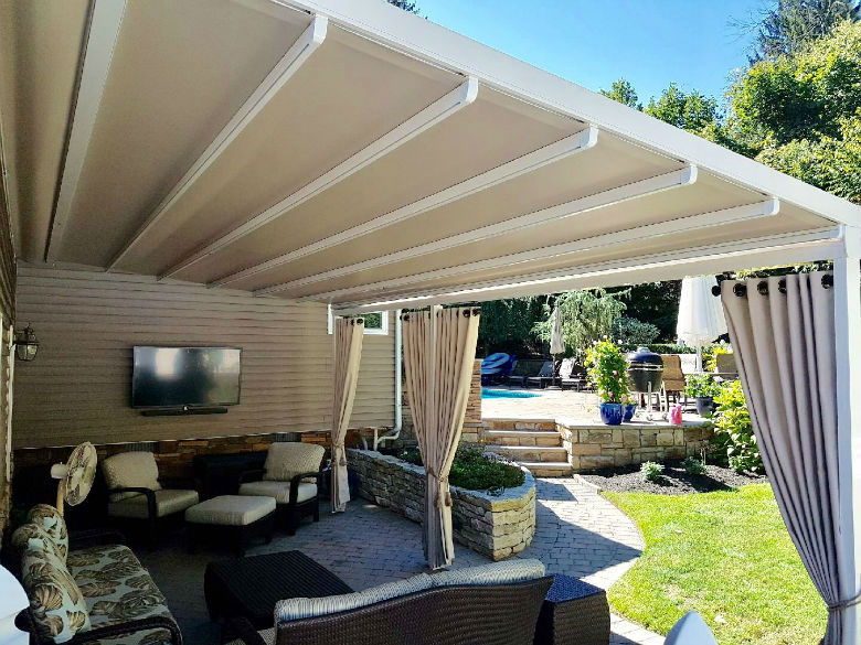Gennius Motorized Retractable Awning