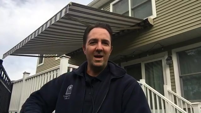 Retractable awning maintenance: How to take your valance off and why.