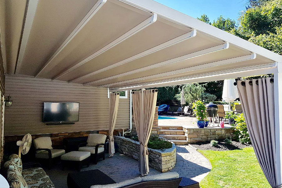 Gennius Motorized Retractable Awning Northvale Nj