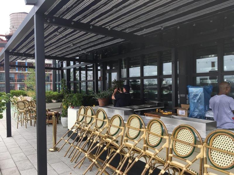 Wythe Hotel Restaurant Awning Ny