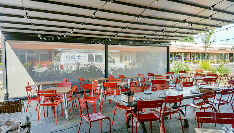 Increase Your Restaurant's Bottom Line with a Gennius Retractable Awning