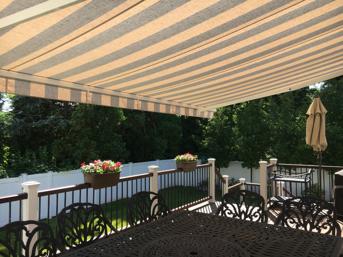 Bergenfield Nj Heavy Duty Retractable Awning Triumph 1