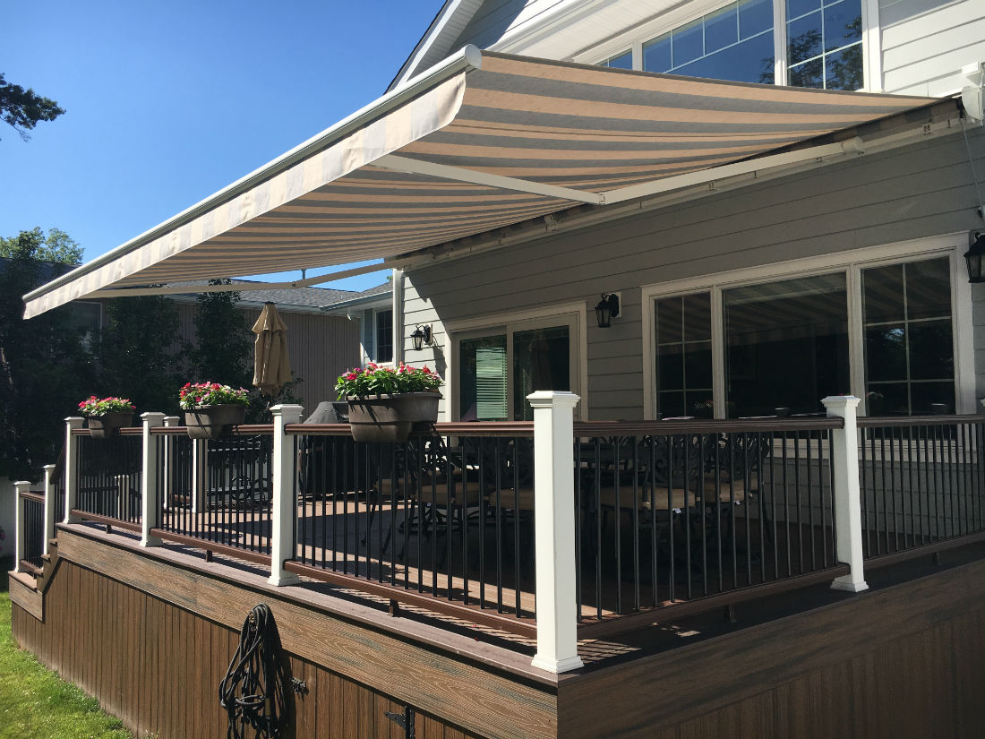 Bergenfield Nj Heavy Duty Retractable Awning Triumph 3