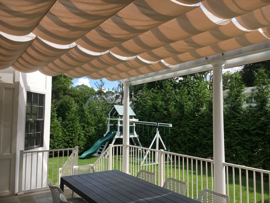 Bergenfield Nj Sliding Shade Canopies 1