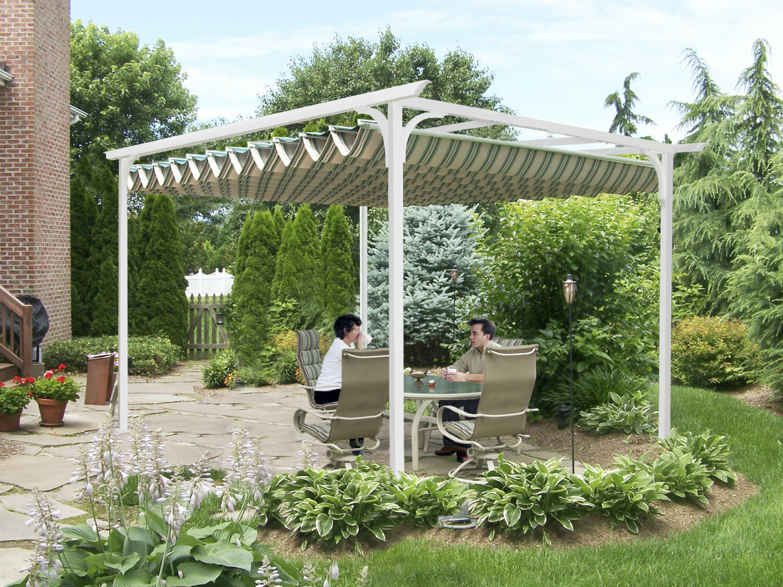 Freestandig Pergola Shade Passaic County Window Works Nj