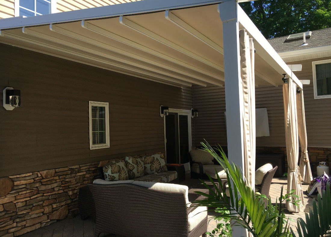 Montvale Nj Window Works Pergola Awning Waterproof
