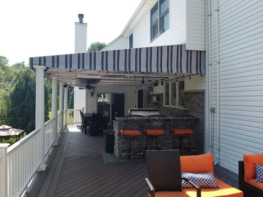 Randolph Stationary Canopy Outdoor Kitchen Window Works Nj