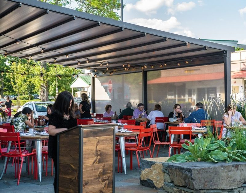 Exterior Solar Shades For Businesses And Restaurants