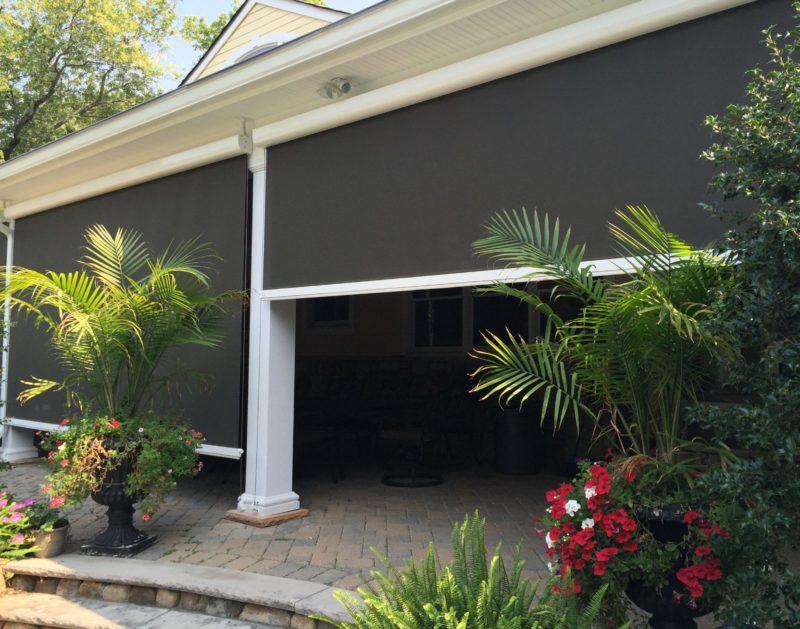 Exterior Solar Shades For Patios And Porches Mahwah Nj